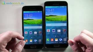 Samsung Galaxy S5 Mini vs. Galaxy S5 - Lutz Herkners Video-Blog | deutsch / german