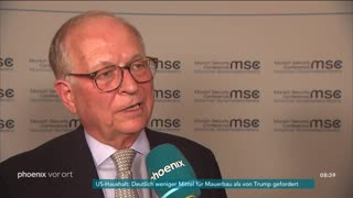 MSC: Michael Kolz im Interview mit Wolfgang Ischinger am 14.02.19