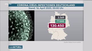 Corona-Zahlen vom 16. April | Video | ARD Mediathek